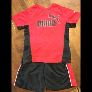 Puma Toddler Boy Outfit. 3T.